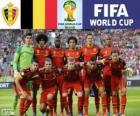 Selección de Bélgica, Grupo H, Brasil 2014