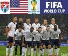 Selección de los Estados Unidos, Grupo G, Brasil 2014
