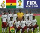 Selección de Ghana, Grupo G, Brasil 2014