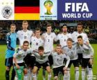 Selección de Alemania, Grupo G, Brasil 2014