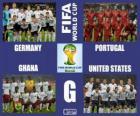 Grupo G, Brasil 2014