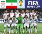 Selección de Irán, Grupo F, Brasil 2014