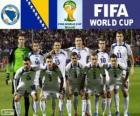 Selección de Bosnia y Herzegovina, Grupo F, Brasil 2014