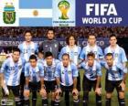 Selección de Argentina, Grupo F, Brasil 2014