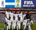 Selección de Honduras, Grupo E, Brasil 2014