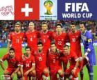 Selección de Suiza, Grupo E, Brasil 2014