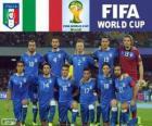 Selección de Italia, Grupo D, Brasil 2014