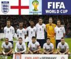 Selección de Inglaterra, Grupo D, Brasil 2014