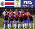 Selección de Costa Rica, Grupo D, Brasil 2014
