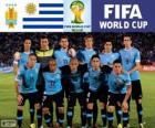 Selección de Uruguay, Grupo D, Brasil 2014