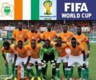 Selección de Costa de Marfil, Grupo C, Brasil 2014
