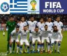 Selección de Grecia, Grupo C, Brasil 2014
