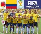 Selección de Colombia, Grupo C, Brasil 2014