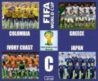 Grupo C, Brasil 2014