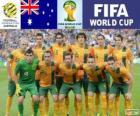 Selección de Australia, Grupo B, Brasil 2014