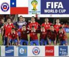 Selección de Chile, Grupo B, Brasil 2014