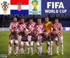 Selección de Croacia, Grupo A, Brasil 2014