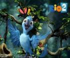 Bia, la hija pequeña de Blu y Jewel