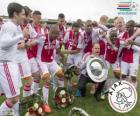 Ajax de Ámsterdam, campeón de la liga holandesa de fútbol Eredivisie 2013-2014