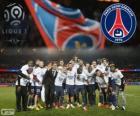 Paris Saint Germain, PSG, campeón de la Ligue 1 2013-2014, liga de fútbol de Francia