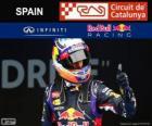 Daniel Ricciardo - Red Bull - Gran Premio de España 2014, 3er Clasificado