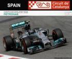 Nico Rosberg - Mercedes - Gran Premio de España 2014, 2º Clasificado