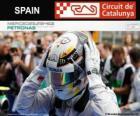 Lewis Hamilton, campeón del Gran Premio de España 2014