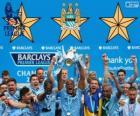Manchester City, campeón Premier League 2013-2014, liga de fútbol de Inglaterra