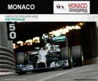 Lewis Hamilton - Mercedes - Gran Premio de Mónaco 2014, 2º Clasificado