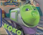 Koko, locomotora eléctrica de Chuggington