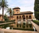 El palacio de la Alhambra, Granada, España