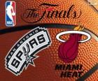 2014 NBA Finales. San Antonio Spurs vs Miami Heat
