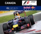 Sebastian Vettel - Red Bull - Gran Premio de Canadá 2014, 3er Clasificado
