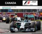 Nico Rosberg - Mercedes - Gran Premio de Canadá 2014, 2º Clasificado