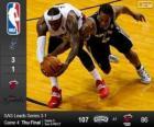 2014 NBA Finales, 4º Partido,  San Antonio Spurs 107 - Miami Heat 86