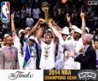 Spurs, campeones NBA 2014