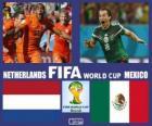 Países Bajos - México, octavos de final, Brasil 2014