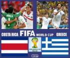 Costa Rica - Grecia, octavos de final, Brasil 2014