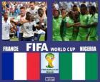 Francia - Nigeria, octavos de final, Brasil 2014
