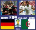 Alemania - Argelia, octavos de final, Brasil 2014