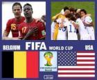 Bélgica - Estados Unidos, octavos de final, Brasil 2014