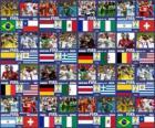 Octavos de final, Brasil 2014
