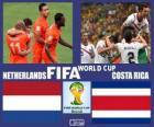 Países Bajos - Costa Rica, cuartos de final, Brasil 2014