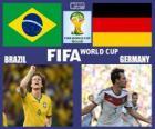 Brasil - Alemania , semifinales, Brasil 2014