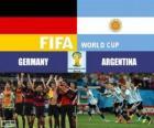 Alemania vs Argentina. Final del Mundial de Futbol FIFA Brasil 2014