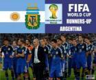 Argentina 2º clasificado del Mundial de Fútbol Brasil 2014