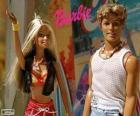 Barbie y Ken en verano