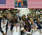 Estados Unidos de América, campeón de la Copa del Mundo de Baloncesto FIBA 2014