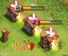 Cuarteles de Clash of Clans