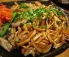 Yakisoba, comida japonesa